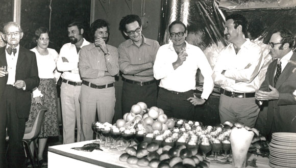 1974 - Yuval Ne'eman's 50th birthday