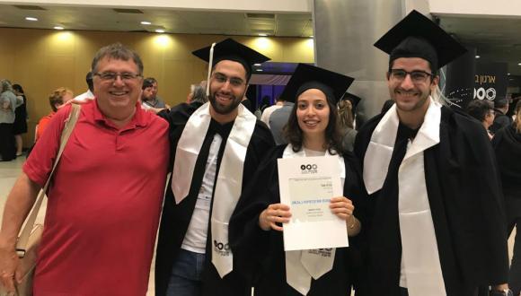 New team Graduates - Kineret Segal and Tzahi Taub