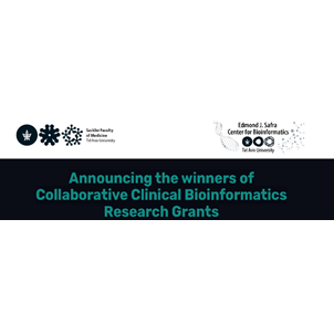 May 2021: Announcing the winners of Collaborative Clinical Bioinformatics Research Grants