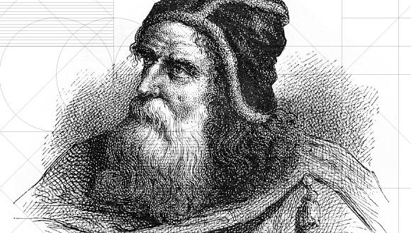 Archimedes, renowned scientist from the 3rd century B.C.E