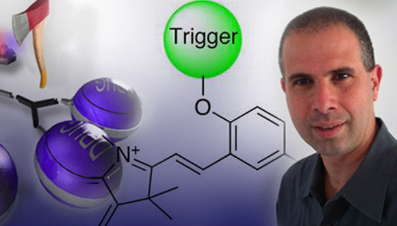 Research conducted at Prof. Doron Shabat's lab on developing revolutionary chemiluminescent (light emitting) biological probes, attracts the interest of the media