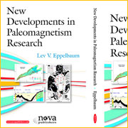 Dr. Lev Eppelbaum is the editor of a new book and the author of one chapter