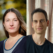 Congratulation to PhD students Ore Gottlieb and Dalia Baron