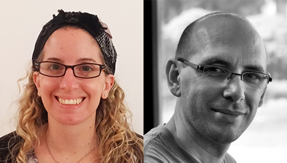 Prestigious Grants recipients - Dr. Liron Barak and Dr.  Benny Trakhtenbrot