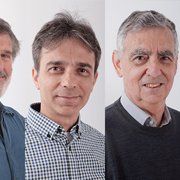 Prof. Nissan Itzhaki, Prof. Yaron Oz, Prof. Cobi Sonneschein, and Prof. Shimon Yankielowicz are part of a new ISF inter-university excellence center to pursue String Theory