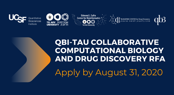 July 2020: UCSF-TAU grants in computational biology and drug discovery