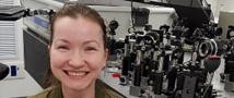 Congratulations to PhD student Katherine Akulov, winner of the Shulamit Aloni Scholarship for Advancing Women in Exact Sciences and Engineering
