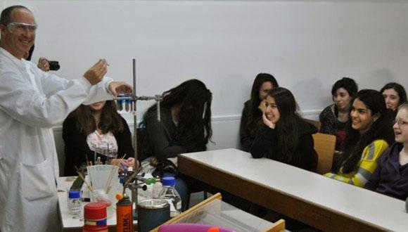 """Wonder of Chemistry"" program for High School Students"