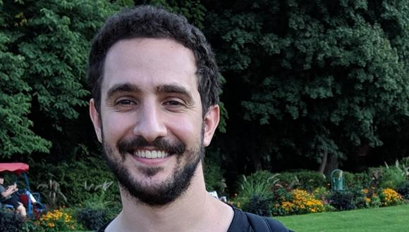 Congratulations to Itamar Cohen who was chosen for the first cohort of the Jabotinsky Fellowship in the field of applied science